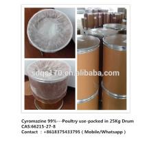 Insecticide, utilisation de volaille Cyromazine 99% TC