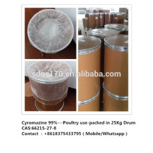 Insecticida, Uso de aves de capoeira Cyromazine 99% TC