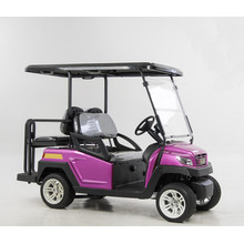 Hot Sale 48V Alum Chassis 4 Seats Electric Golf Shopping Cart