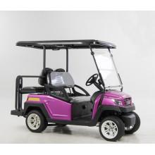 Venda quente 48 V Alum Chassis 4 Assentos Carrinho De Compras De Golfe Elétrico