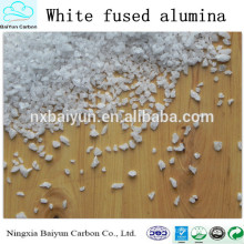 99% high purity abrasive White fused alumina for sale