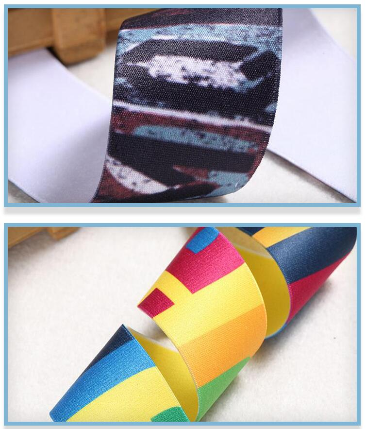 Printed Elastic Band