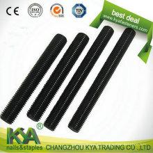 Varilla roscada B7 de alta resistencia para la industria