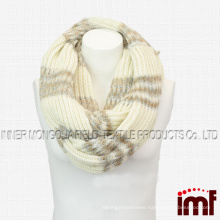 Women' s Stylish Super Soft Winter Knit Warm Infinity Scarf
