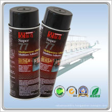 GUERQI-77 fabric spray adhesive for Computer embroidery