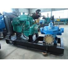 Pompe à eau diesel définit avec les moteurs Diesel Cummins pour l'Agriculture et la lutte contre l'incendie