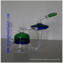 Wasserpfeife Shisha Glas mit Schliffe für Raucher