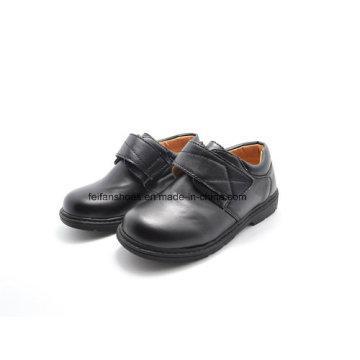 Sapatos de couro clássicos de alta qualidade estudante sapatos sapatos de vestido (ff611-2)