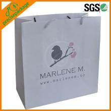Weiße Kraftpapier Tasche Stoff Tasche Einkaufstasche