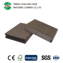 Decking WPC solide de vente chaude avec la qualité (HLM122)