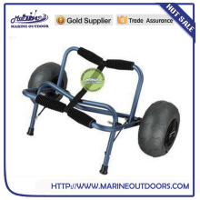 Folding beach cart, Beach hand cart, Beach kayak trolley cart