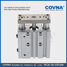 Pistón de doble efecto COVNA para neumáticos