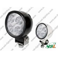 """12 W 5 """"LED redondo de luz de trabalho para veículos rodoviários, ATV, caminhões, ônibus (NSL-1204B)"""