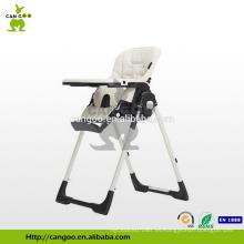 Tablero desprendible ajustable ajustable de la bandeja del bebé del restaurante / silla del cabrito / silla plegable