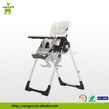 Multi-fonction Belle conception Baby High Chair Plastic pour le restaurant