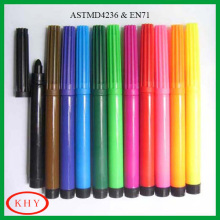 Colorful Washable Textile Marker Pen for Painting on Fabric or Shoes