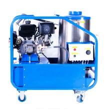 Uso de desengrase y limpieza manual Lavadora a presión de agua caliente