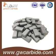Conseils brasés par carbure de tungstène pour la machine d'outil de extraction