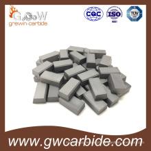 Pontas soldadas do carboneto de tungstênio para a máquina da ferramenta de mineração