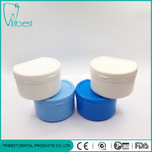 Plastic Colorful Portable Teeth Box With Strainer