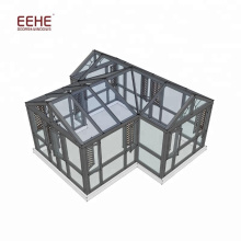 China Produced Conservatory Sunroom Roof Kit with Sliding Windows