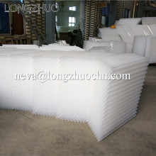 PP or PVC Material Lamella Plate Settler Tube For Solid Liquid Separation