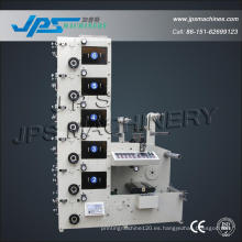 Máquina de impresión de flexografía de papel en rollo