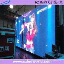 Panneau polychrome d'écran de la publicité d'affichage à LED de location d'intérieur de P4.81