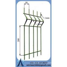 ISO9001 6 5 6 mm 868 mm valla de panel de alambre doble