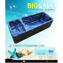 2014 Europe luxury TV outdoor jacuzzi swimming pool massage spa