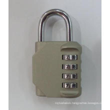 New Product 4 Digit Combination Padlock 1610