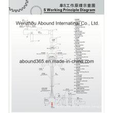 Tela no tejida que hace la máquina del surtidor de China