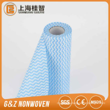 Factory Supply 100% Polyster Kitchen Printed Wave Cleaning Cloth