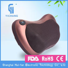 CE ROHS FDA FCC EMC Car Shiatsu Back Massager Cushion kneading massage pillow