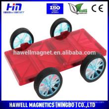 Brinquedo triângulo magnético