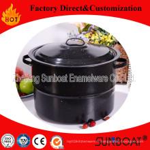 Ustensiles de ménage de Sunboat de pot d'émail de 10qt adaptés aux besoins du client