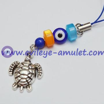 Evil Eye Protective Metal Turtle Mobile Phone Charm Pendant Wholesale