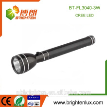 Factory Wholesale High Power Emergency Usage Rechargeable 3C Nicd Bright Cree XPE 3watt Best 1101 police flashlight