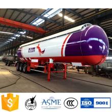 56000 Liters 3 Axles LPG Tank Trailer
