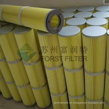 FORST Filtros industriales para plantas de cemento para recolección de polvo de cemento