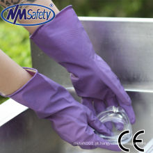 Luvas domésticas de látex de pulverização NMSAFETY