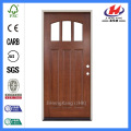 *JHK-G32 Indian Carved Wooden Doors Pine Panel Doors Single Panel Door