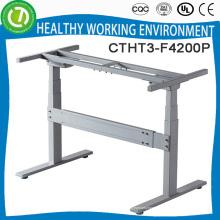 O elevador elétrico senta-se ou mesa do computador móvel do quadro da mesa da posição para mesas da escola