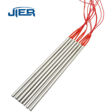Single-point rod 12v heating element cartridge heater