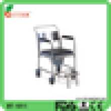 power coated frame commode toilet chair for elderly people