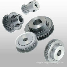 Power transmission industrial timing belt pulleys