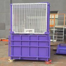Elevador de construção de zinco de mergulho