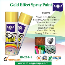 I-Like ID-204 Economical Metallic Gold Spray Paint