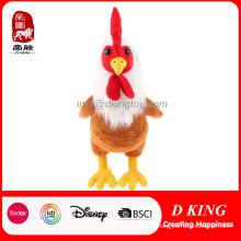 Emulational Plush Animal Stuffed Chicken Toy