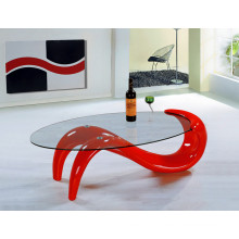 Modern High Quality Fiber Glass Coffee Table